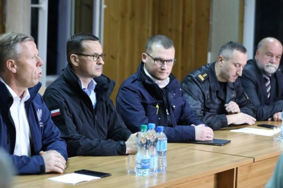 Premier w Zakopanem: Niektóre osoby są w bardzo ciężkim stanie