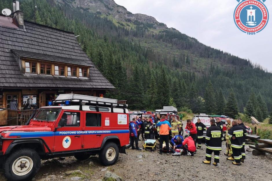 Straż Pożarna podsumowała działania w Tatrach