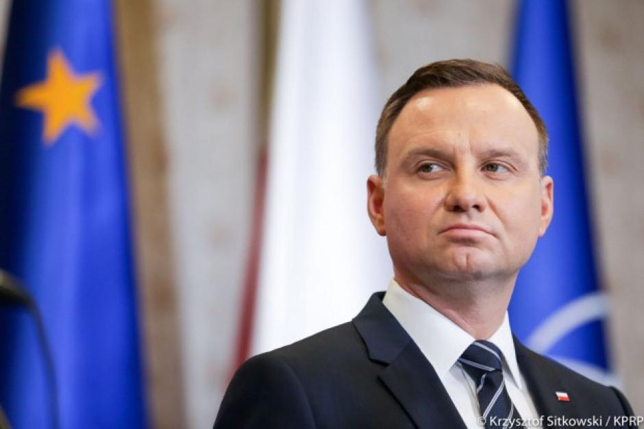 Andrzej Duda oddał hołd ofiarom tragedii w Tatrach
