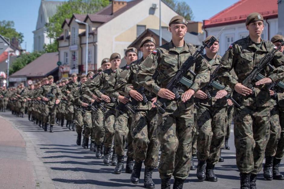 W weekend szkolenia żołnierzy WOT
