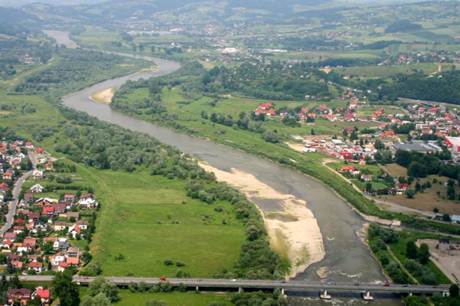 Nowy Sącz: Powstanie przeprawa na Dunajcu z programu Mosty dla Regionów