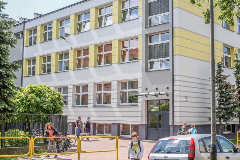 W 2017 r. modernizację energetyczną przeszedł budynek Szkoły Podstawowej nr 21 (fot. UMP)