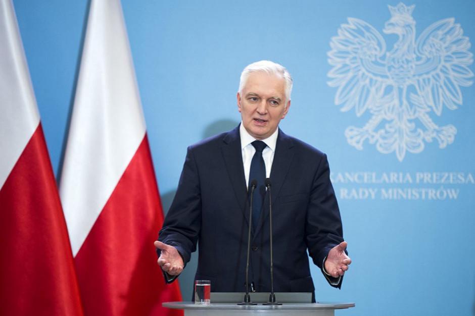 Jarosław Gowin: planujemy wzrost wynagrodzeń w sferze budżetowej w przyszłym roku