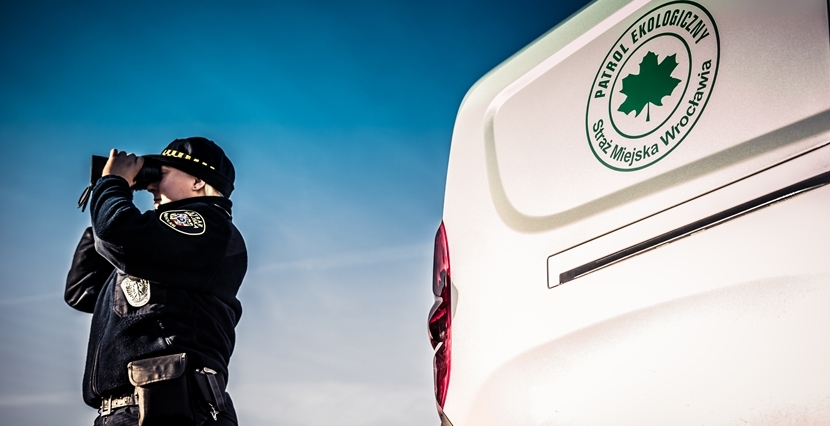 Władze Wrocławia dofinansowały m.in. składający się ze strażników ekopatrol (fot. UMW)