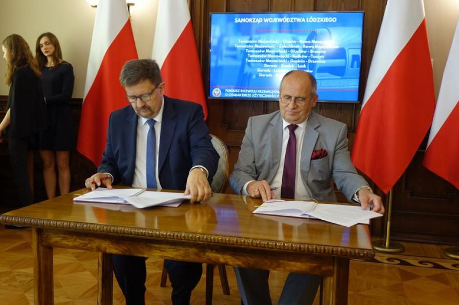 Koniec komunikacyjnych białych plam w Łódzkiem. Jest umowa na nowe połączenia