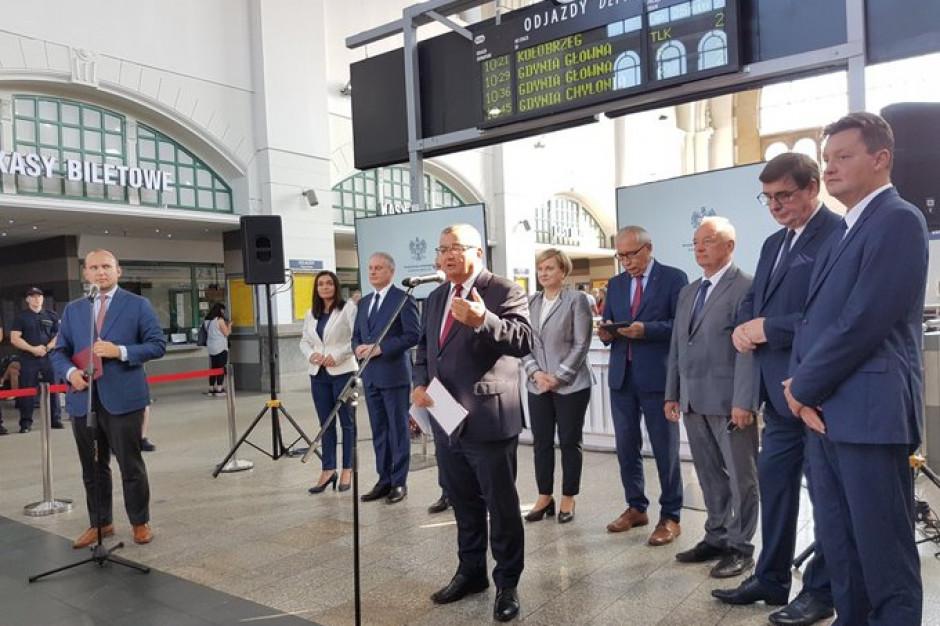 100 mln zł na modernizację dworca w Gdańsku. Pociągi też przyspieszą