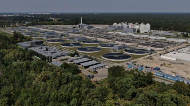 Czajka to jedna z najnowocześniejszych oczyszczalni w Polsce (fot. mpwik)