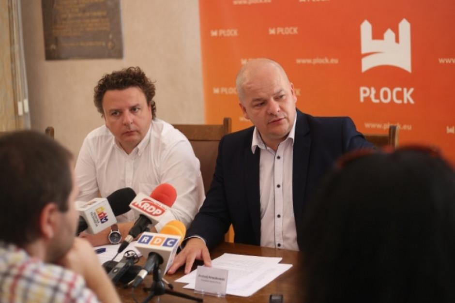 Prezydent Płocka do prezesa Orlenu: zarzuty odbieram jako kuriozalne