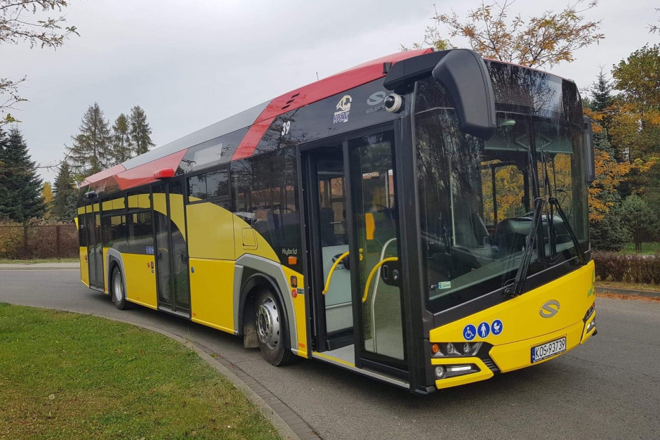 Elektryczny autobus będzie woził pasażerów w Oświęcimiu