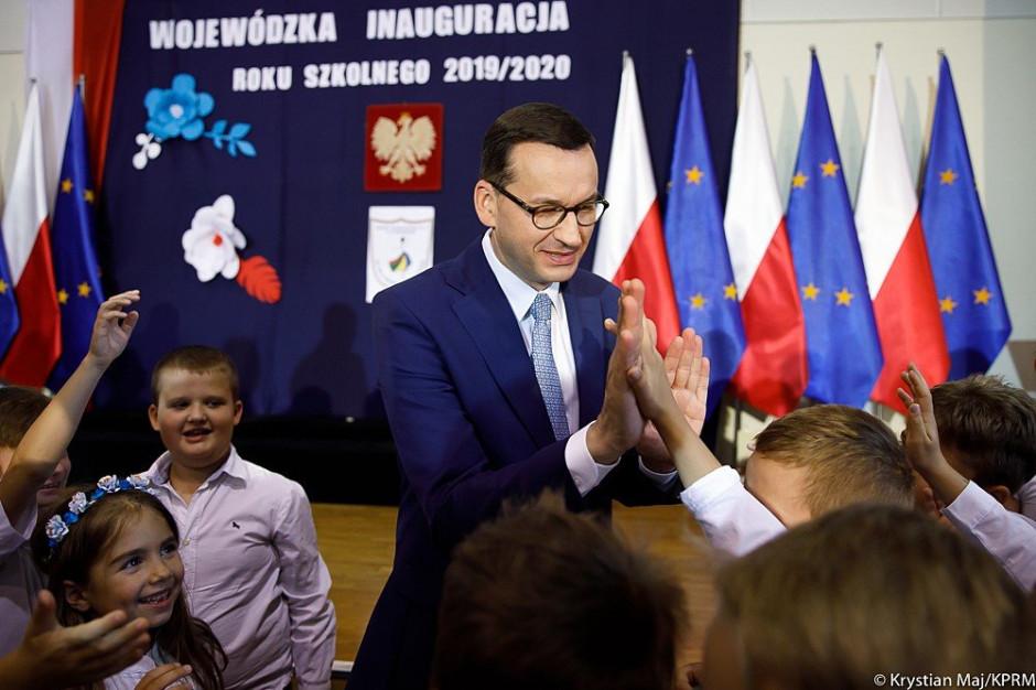 Mateusz Morawiecki: Dziś wielki dzień dla wszystkich uczniów