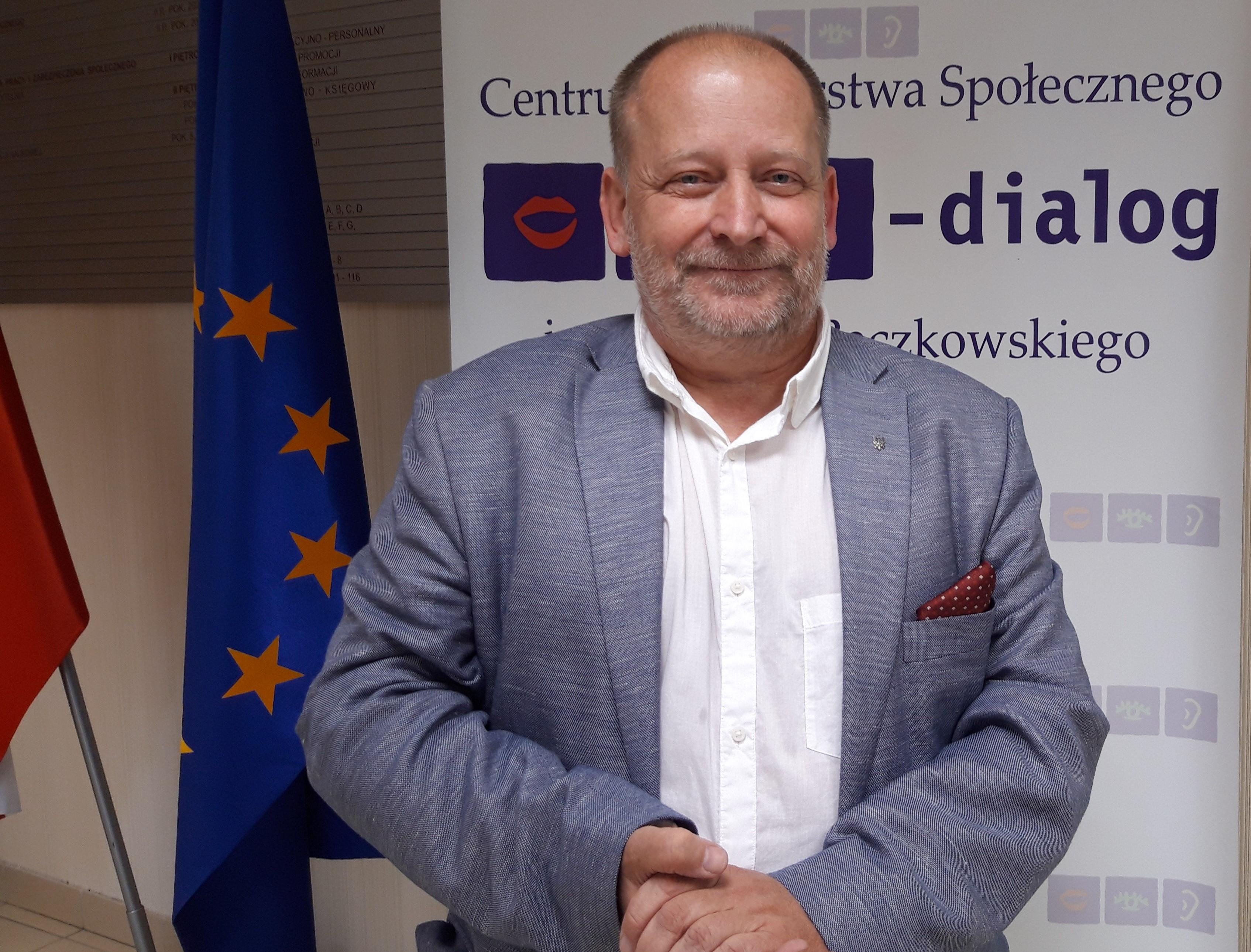 Sławomir Wittkowicz, przewodniczący WZZ, fot. BB