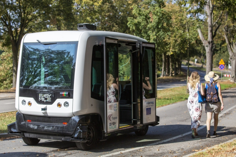 Autonomiczny bus na testach w Gdańsku. Miasto ma śmiałe plany