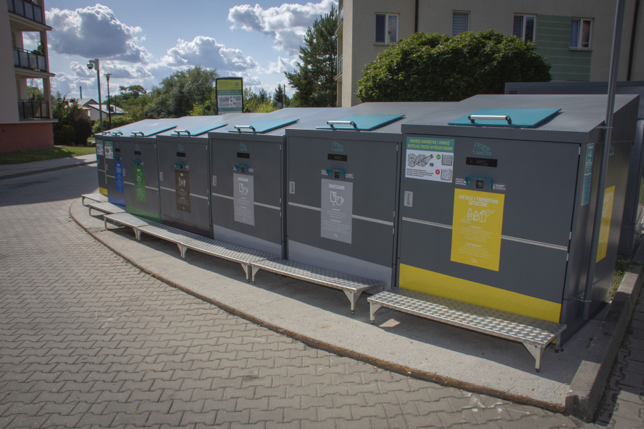 Mieszkańcy przekonali się do pilotażowego systemu segregacji odpadów w Ciechanowie