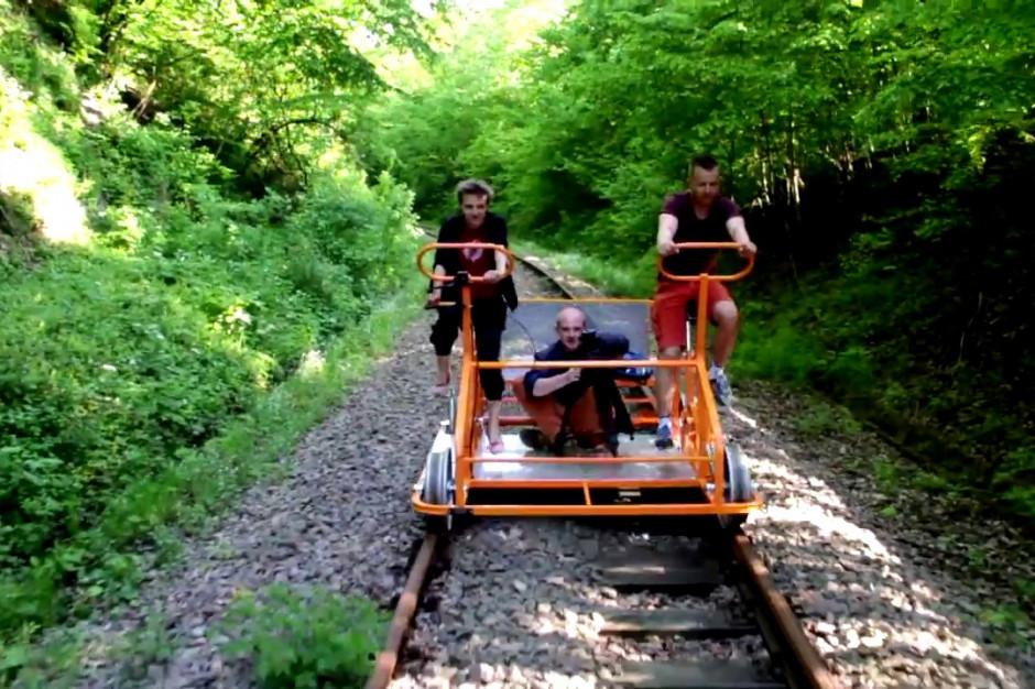 W Bieszczadach blisko 50 tys. turystów skorzystało z drezyn rowerowych