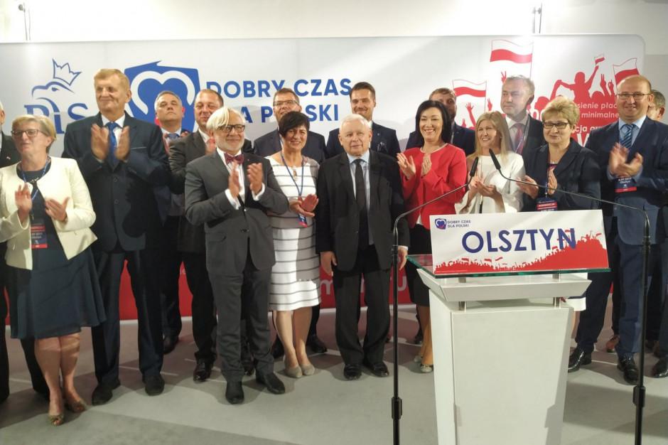 Jarosław Kaczyński: Warmia i Mazury będzie objęta polityką zrównoważonego rozwoju