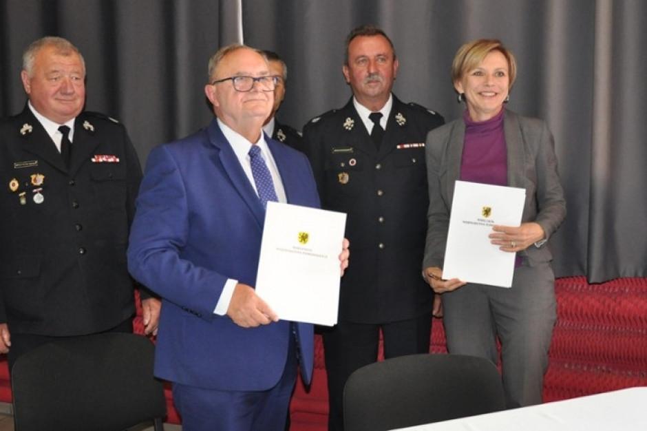 19 jednostek OSP ze wsparciem województwa pomorskiego na zakup sprzętu