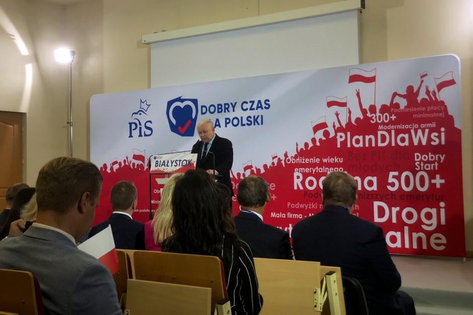 Jarosław Kaczyński: Odrzuciliśmy koncepcję koncentrowania rozwoju w dużych miastach