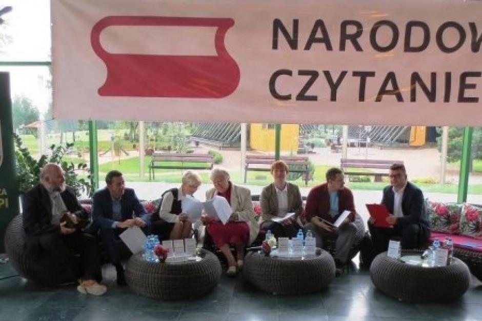 W sobotę - Narodowe Czytanie ośmiu polskich nowel