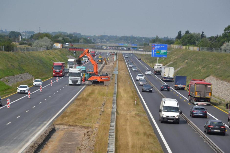 Rozbudowa autostradowej obwodnicy Poznania. Kolejne zmiany w organizacji ruchu na A2