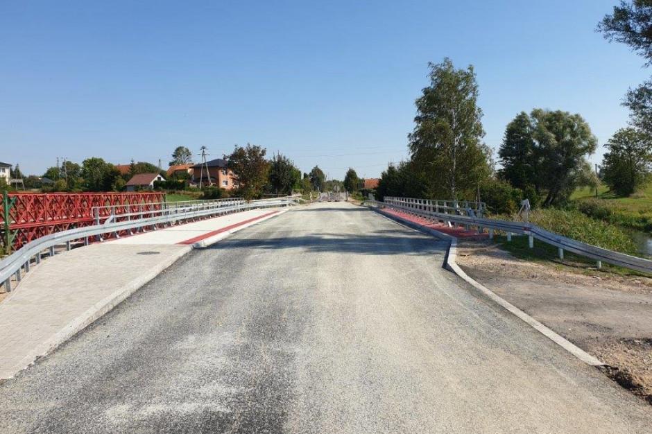 Nowy most w Mikoszach dostępny dla kierowców