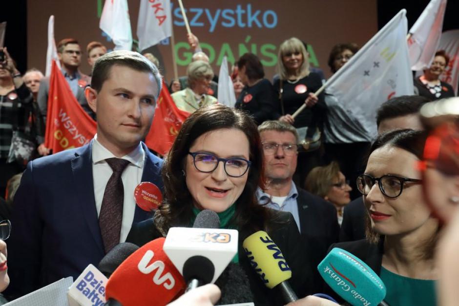 Dulkiewicz: z każdym, kto narusza prawa moje, mojej rodziny lub miasta Gdańsk, będę się spotykać w sądzie