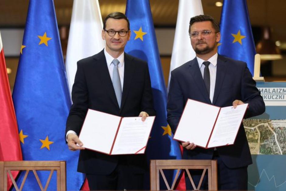 Morawiecki i Krupa podpisali list intencyjny ws. Centrum Himalaizmu i Centrum Nauki