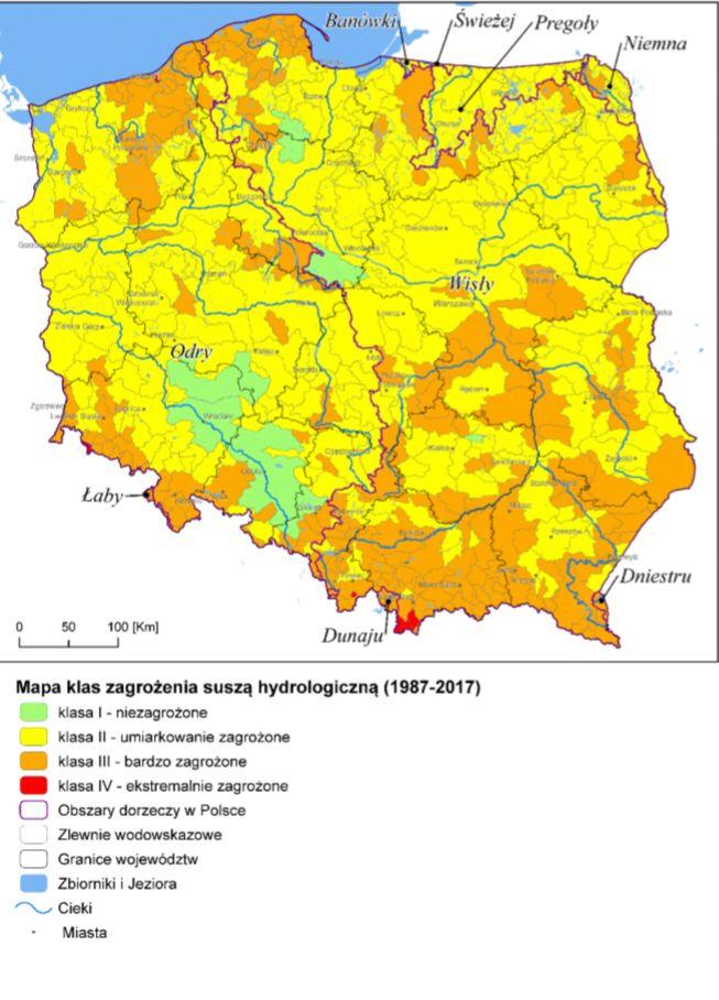 Źródło: Plan przeciwdziałania skutkom suszy