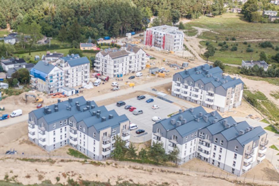 Mieszkanie plus w Zamościu ze złożonym wnioskiem o pozwolenia na budowę