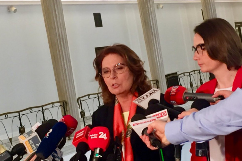 Małgorzata Kidawa-Błońska: nie damy rozdzielić Warszawy i Mazowsza
