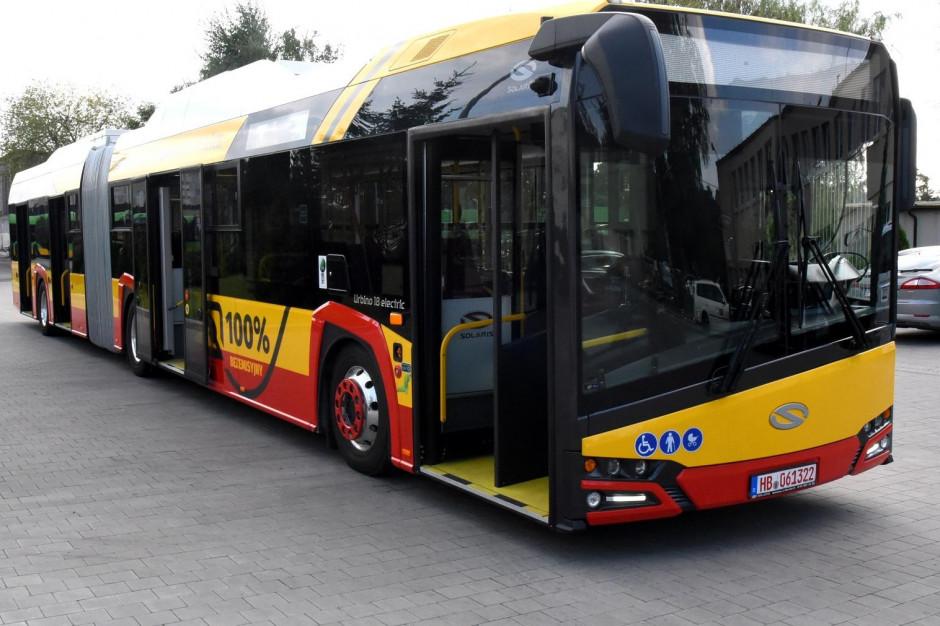 Solaris wyprodukuje sześć autobusów elektrycznych dla Konina