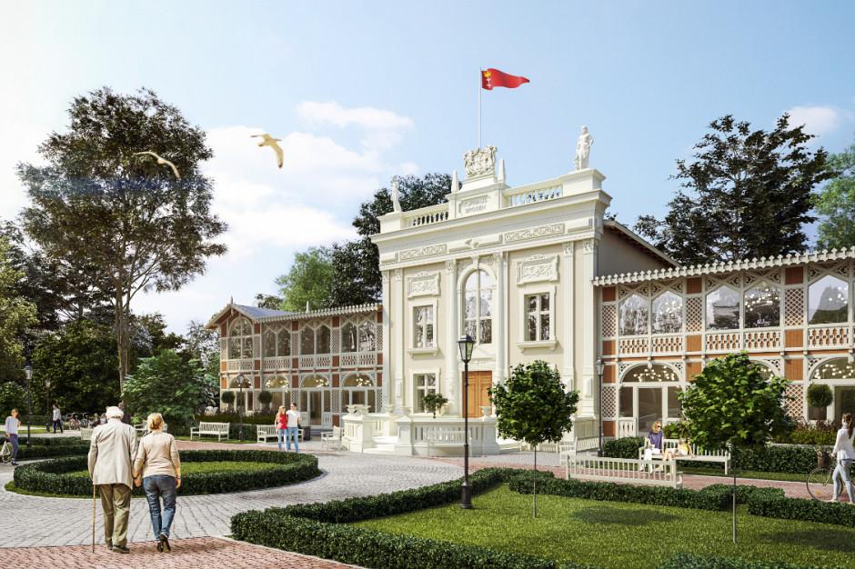 Dom Zdrojowy w gdańskim Brzeźnie przechodzi modernizację