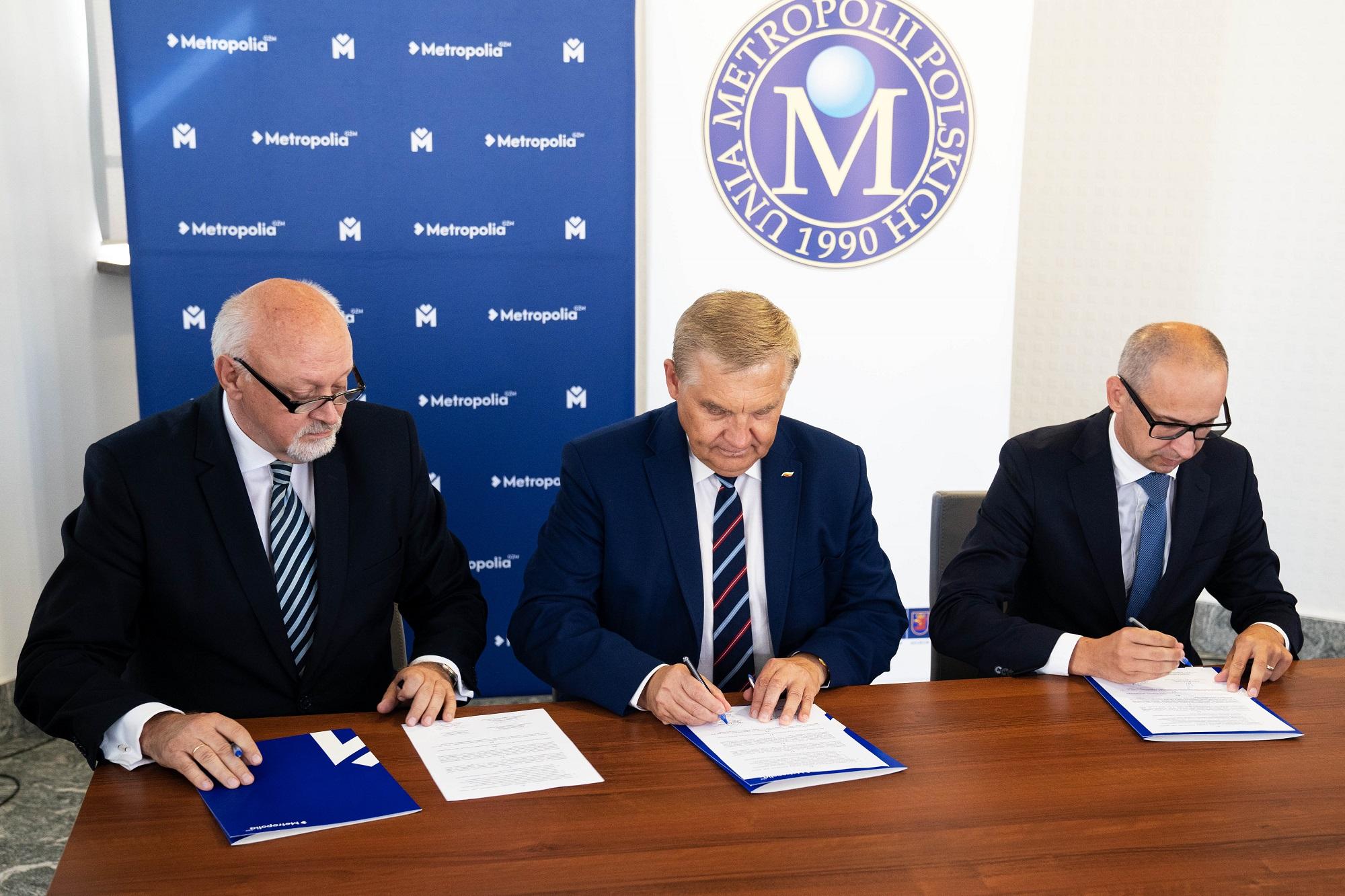 Na mocy podpisanego 10 września porozumienia rozpoczyna się współpraca na linii GZM-UMP (fot. GZM)