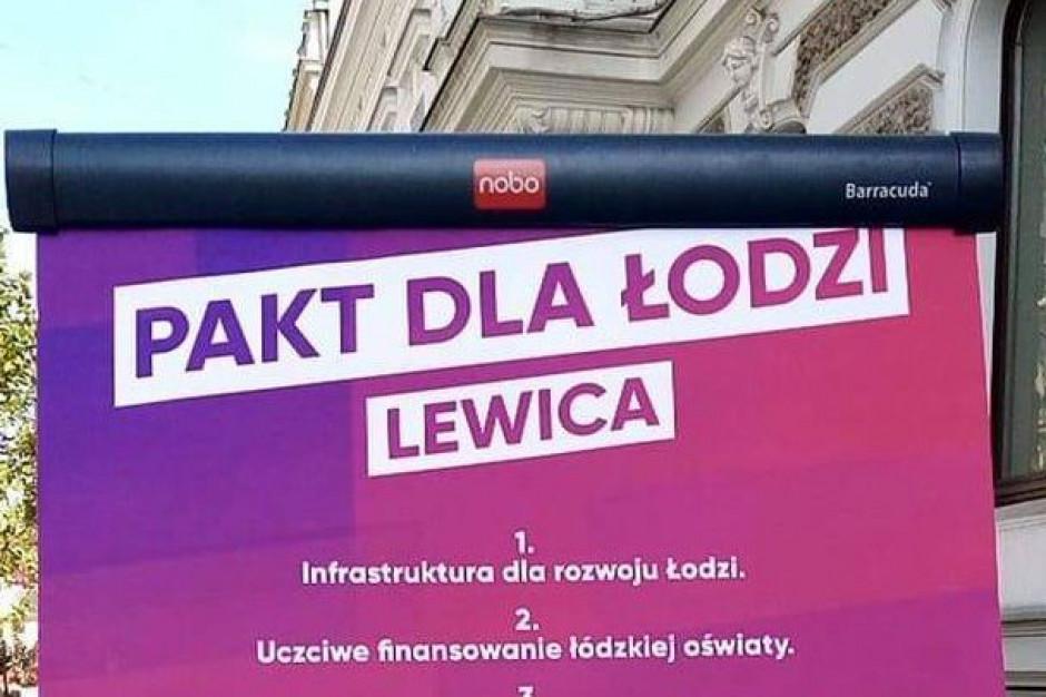 """Kandydaci lewicy podpisali """"Pakt dla Łodzi"""""""