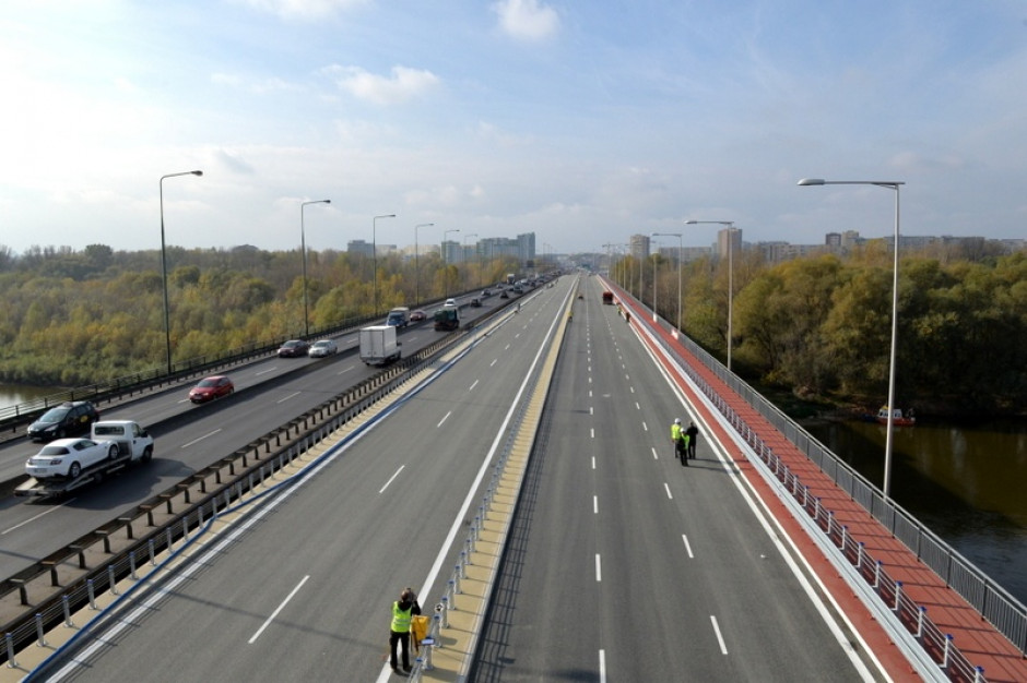 Warszawa sprawdziła, którymi mostami najchętniej jeżdżą kierowcy