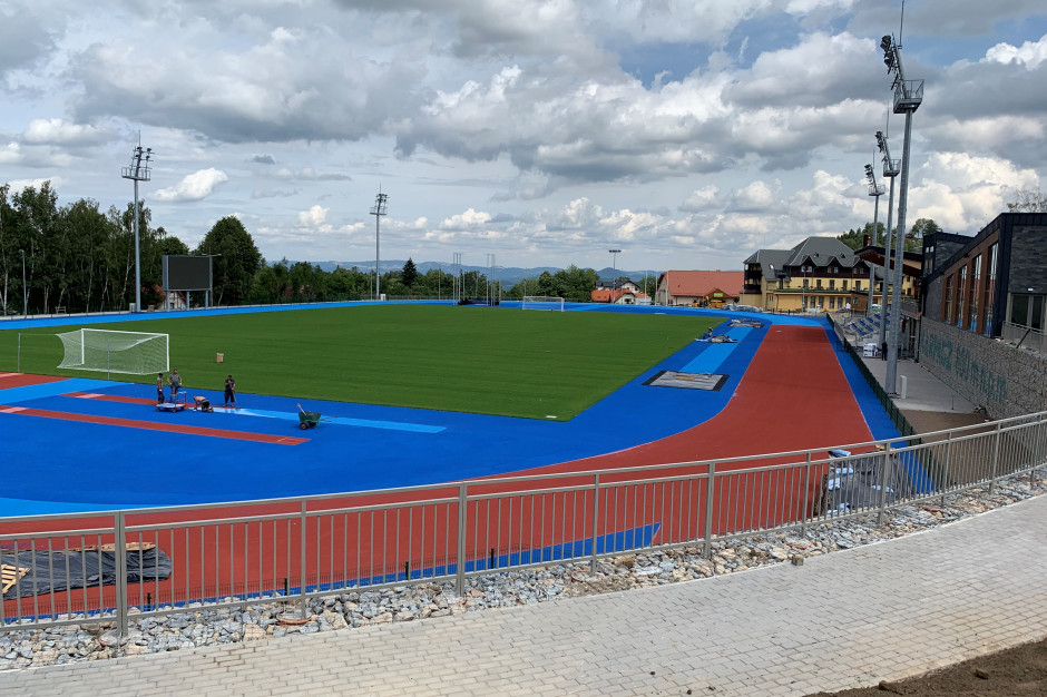 Karpacz ma stadion dla lekkoatletów