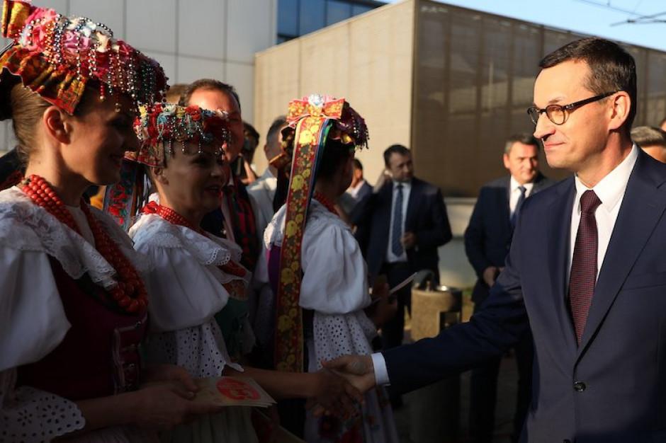 Mateusz Morawiecki w Katowicach: Ta ziemia symbolizuje ciężką pracę