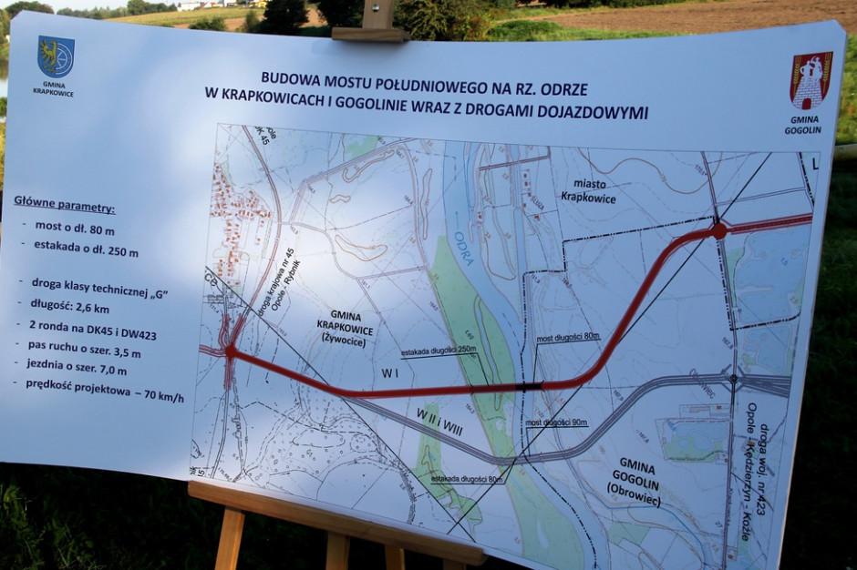 Budowa mostu w Krapkowicach z rządowym dofinansowaniem