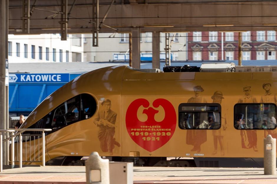 Powstaniec Śląski - wyjątkowy pociąg wyruszył w trasę
