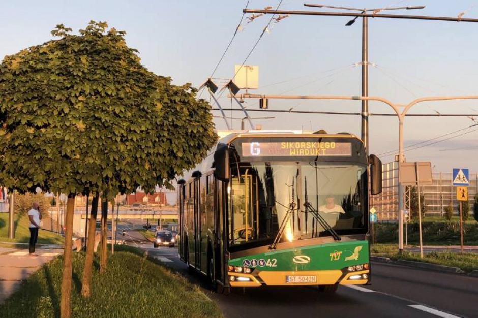 Od 23 września nowy odcinek sieci trolejbusowej w Tychach