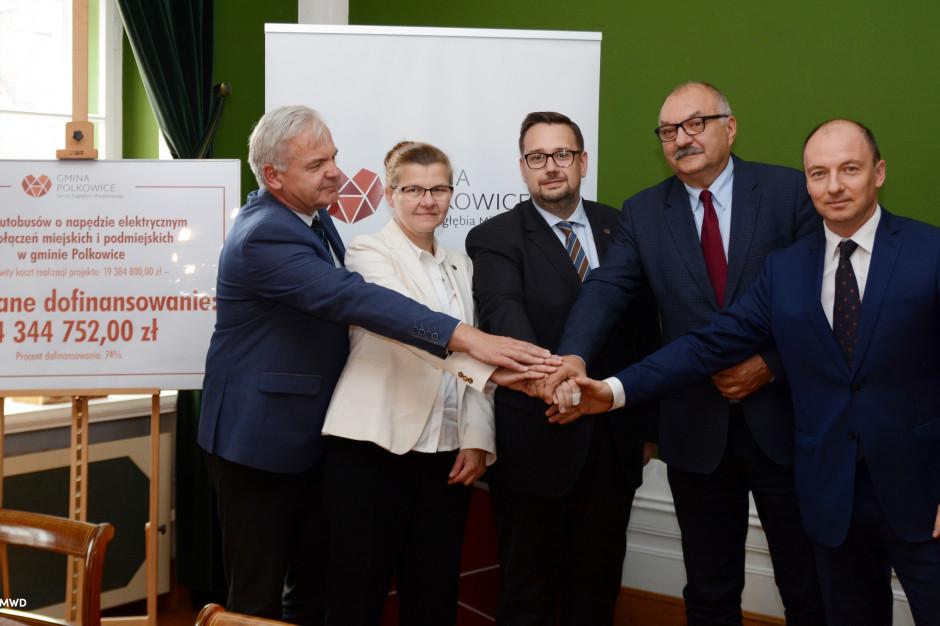 Nowe elektryczne autobusy dla Polkowic