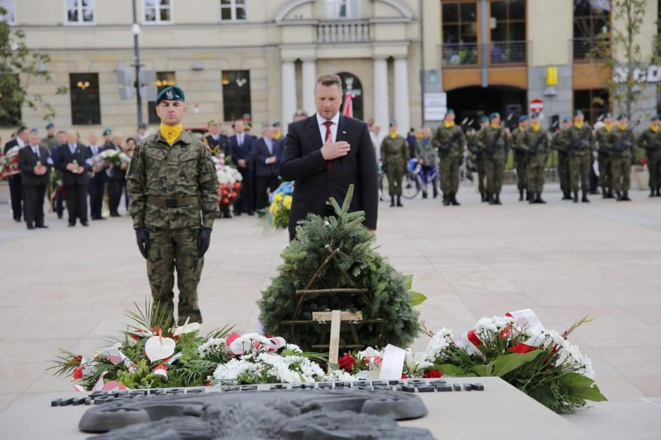 Lublin. Oddano hołd ofiarom sowieckiej napaści na Polskę