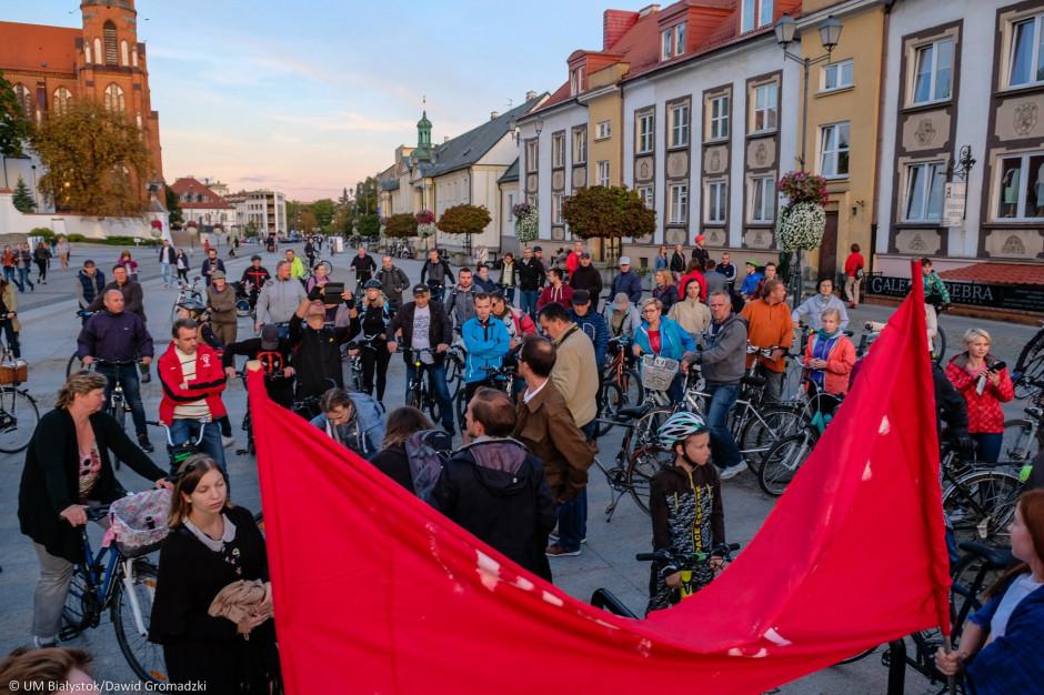 Białystok. Peleton Pamięci w rocznicę sowieckiej agresji na Polskę