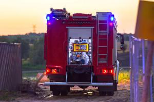 Strażacy zakończyli przeszukiwanie pogorzeliska po pożarze domu