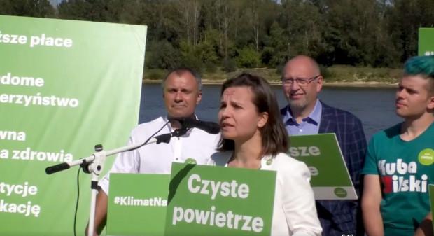 Partia Zielonych liczy na dwa-trzy mandaty (fot. zieloni.pl)