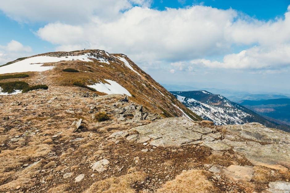 Na Babiej Górze spadł pierwszy śnieg