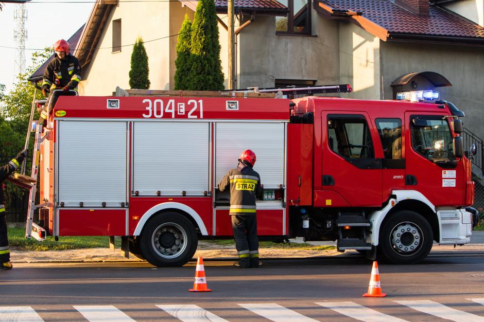 Kilkaset interwencji strażaków po silnym wietrze. Najwięcej na Mazowszu