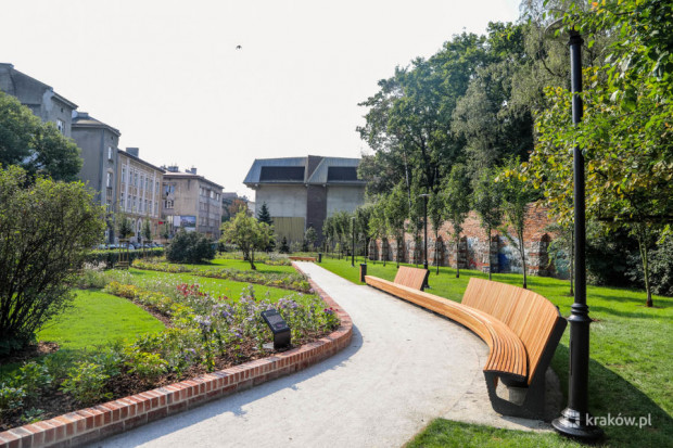 Ogrody Krakowian Łobzowska (fot: Bogusław Świerzowski/krakow.pl)