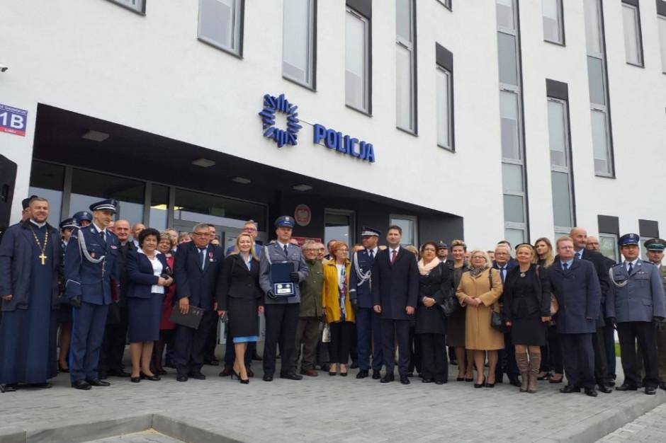 Wiceminister: w tym roku blisko sto nowych obiektów dla policji