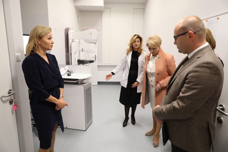 Uroczyste otwarcie Zakładu Diagnostyki Obrazowej (fot. Białostockie Centrum Onkologii)