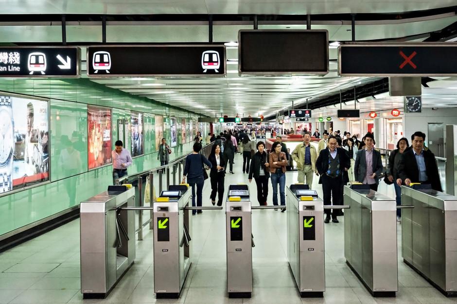 Chińscy seniorzy zapłacą za metro...skanem swojej twarzy
